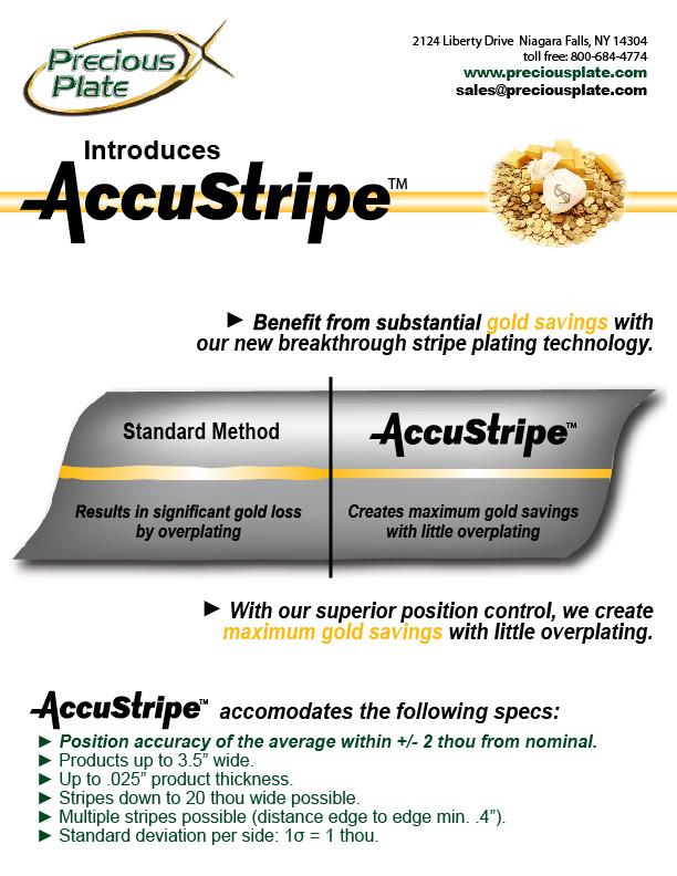 Precious Plate - Spot Plating, Selective Plating